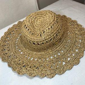Betsey Johnson Summer Wide brim hat